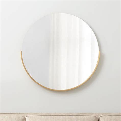 gerald small  wall mirror reviews crate  barrel