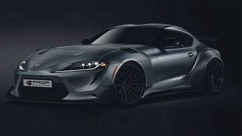 2020 Toyota Supra Widebody Wallpaper by 2020 Toyota Supra With Tuner Widebody Kit Looks