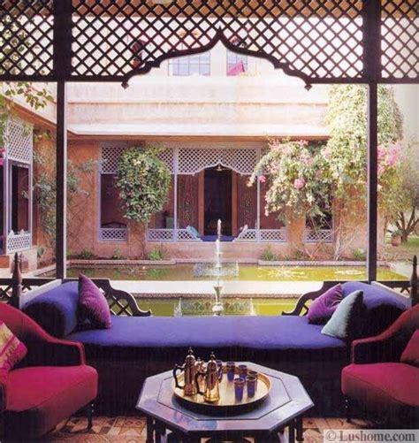 moroccan decor ideas  exotic  glamorous outdoor rooms
