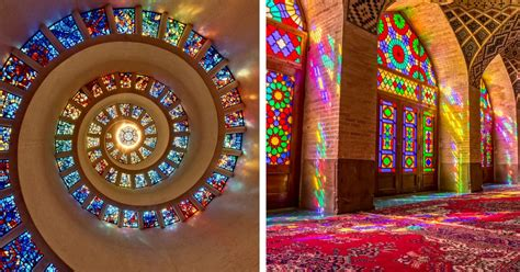 famous stained glass windows   world