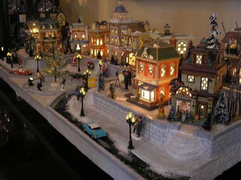 dept  lemax display platform christmas   city