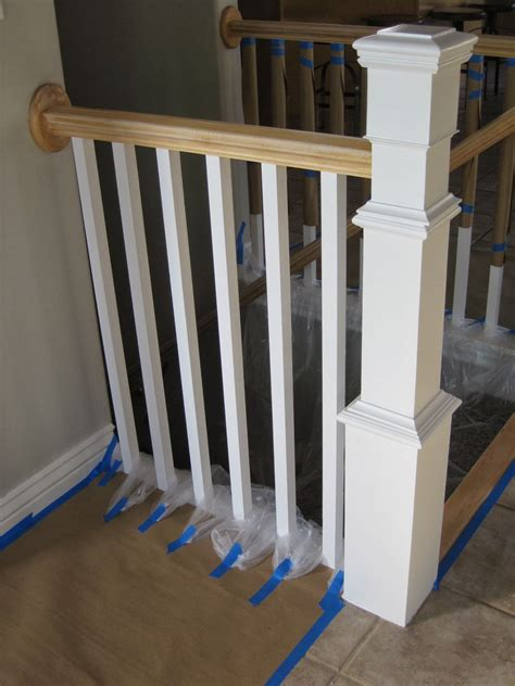 interior home painting cost remodelaholic stair banister renovation existing