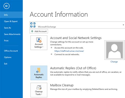 Office 365 Mail Auto Reply by In Outlook 2013 How Do I Exclude Certain Emails From Auto