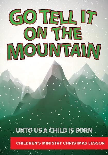 mountain christmas childrens ministry lesson childrens ministry deals