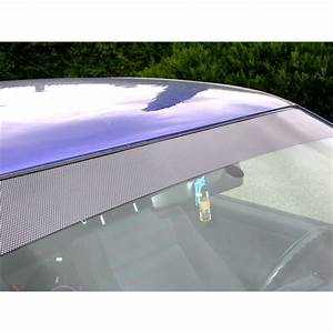 Stickers Pare Brise : 1 bandeau autocollant thermocollable pare brise look carbone noir ~ Medecine-chirurgie-esthetiques.com Avis de Voitures