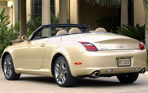 Used 2008 Lexus Sc 430 For Sale  Pricing & Features Edmunds