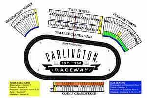 Martinsville Race Track Seating Chart Maps Darlington Raceway