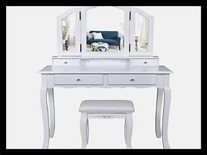Coiffeuse Moderne Avec Miroir : coiffeuse moderne avec miroir fashion designs avec coiffeuse avec miroir lumineux coiffeuse avec ~ Farleysfitness.com Idées de Décoration