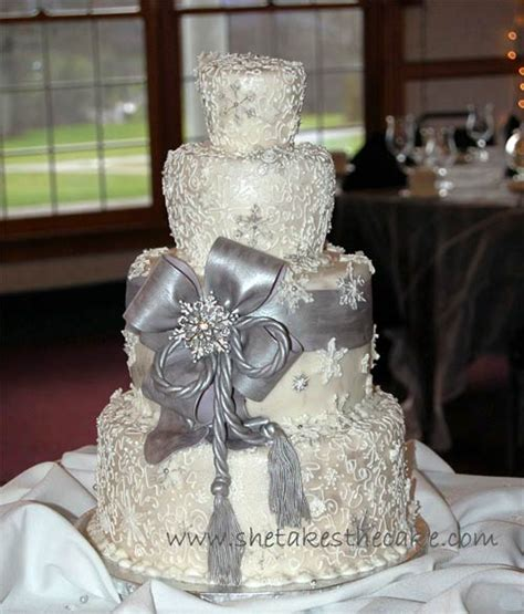 silver wedding stylish silver wedding cake designs