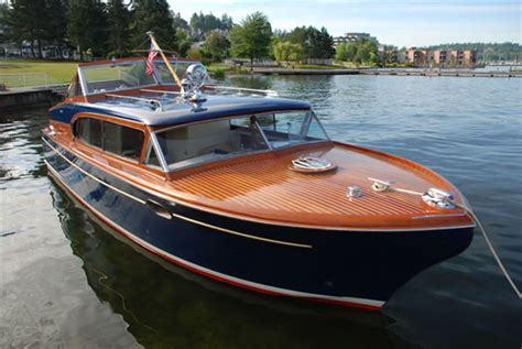 1956 Higgins Wood Boat by Chris Craft Ladyben Classic Wooden Boats For Sale