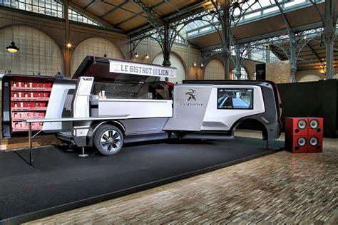 mon dieu meet  peugeot food truck concept