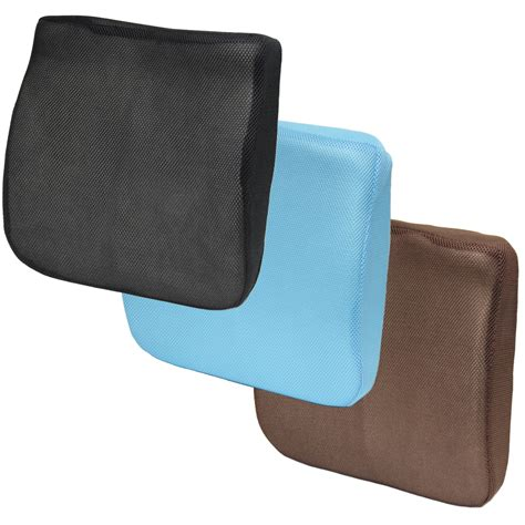 3d Mesh Memory Foam Seat Cushion Lower Back Lumbar Support