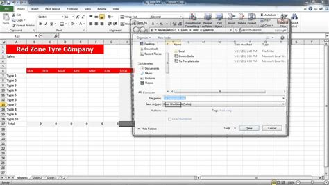 how to create templates in excel