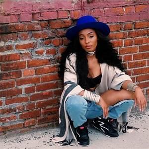 Shoes: hat, hair, 90s style, reebok, denim, jeans ...