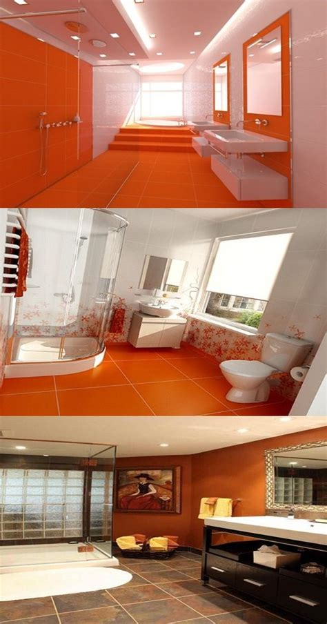 12 Decorating Design Ideas by Orange Bathroom Decorating Ideas