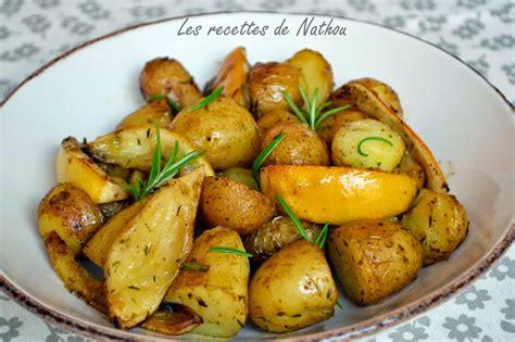 cuisiner des pommes de terre pommes de terre au four citron et romarin par ma cuisine