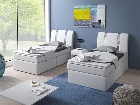Einzel Boxspringbett Ikea by Boxspringbett Einzelbett 90x200 Mit Bettkasten M 246 Bel F 252 R