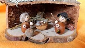 Einfache Krippe Selbst Basteln : krippe aus naturmaterialien youtube ~ Orissabook.com Haus und Dekorationen