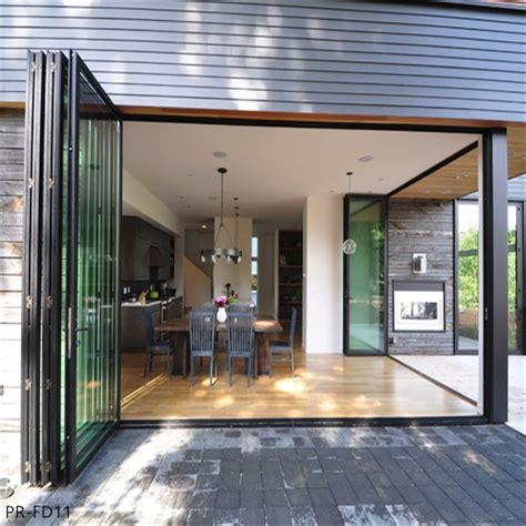 exterior doors  sale aluminium glass folding bifold doors