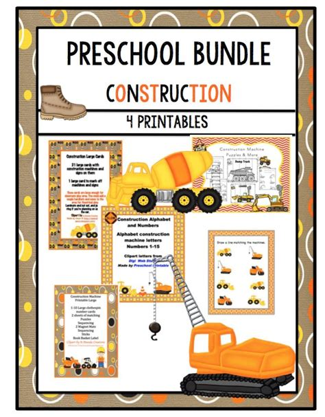 construction themed activities for preschoolers the 87 best images about construction amp big trucks theme 506