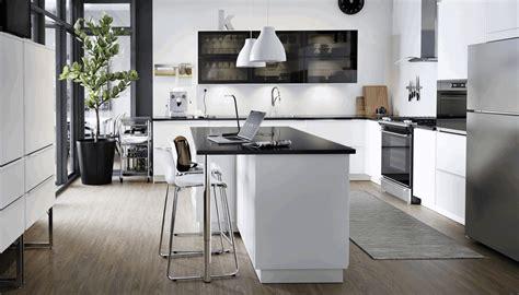 ikea    black kitchen trend