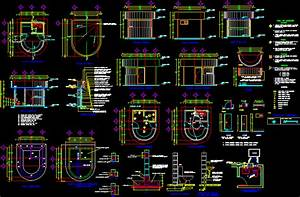 House Of Monitoring In Autocad