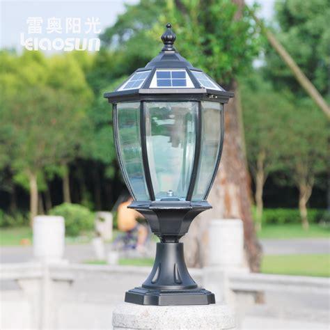 bright headlights column can post lights wall