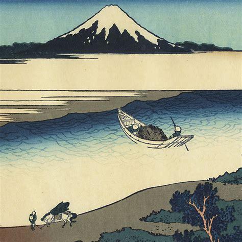 36 vues du mont fuji artmemo hokusai 36 vues du mont fuji le mont vu de la rivi 232 re tamagawa