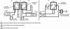 Honeywell Furnace Temperature Fan Limit Switch Control