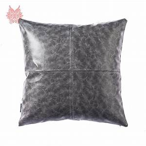 compare prices on leather sofa cushion covers online With sofa cushion cover price