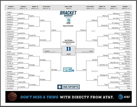 ncaa tournament expert brackets march madness title picks