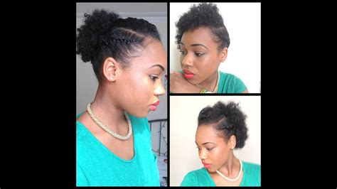 32. 3 Quick Easy Style For Short Natural Hair ( Wash And
