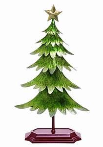 Clever Metallic Green Christmas Tree