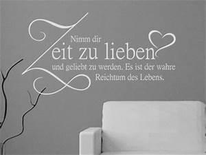Zitate Gemeinsame Zeit : wandtattoo zum valentinstag schenken romantische wandtattoos ~ Orissabook.com Haus und Dekorationen