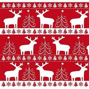 Papier Cadeau Blanc : papier cadeau no l rouge et blanc ~ Teatrodelosmanantiales.com Idées de Décoration