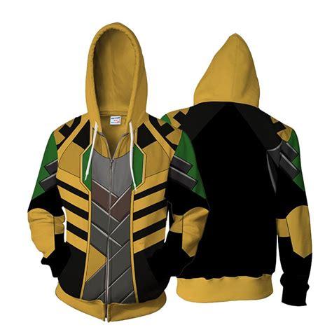 The Avengers Loki Cosplay 3d Zip Up Hoodie Men Women Tom