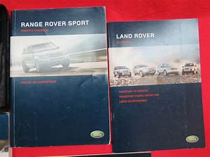 2006 Range Rover Sport Owners Manual Guide Book