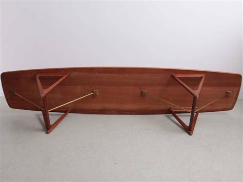 extra large coffee table extra large kurt ostervig surfboard coffee table at 1stdibs