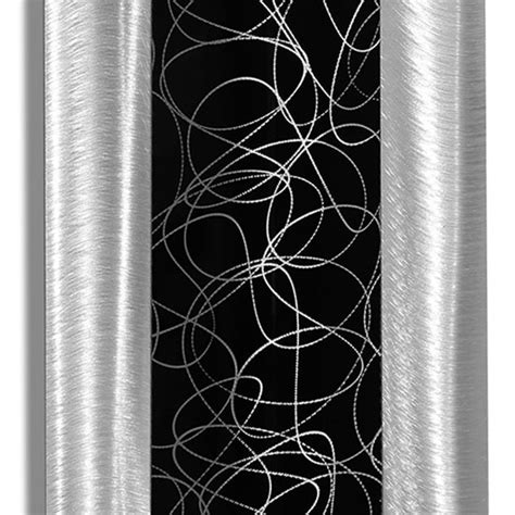 jon allen metal wall modern trifecta metal wall is the highlight of any 7617