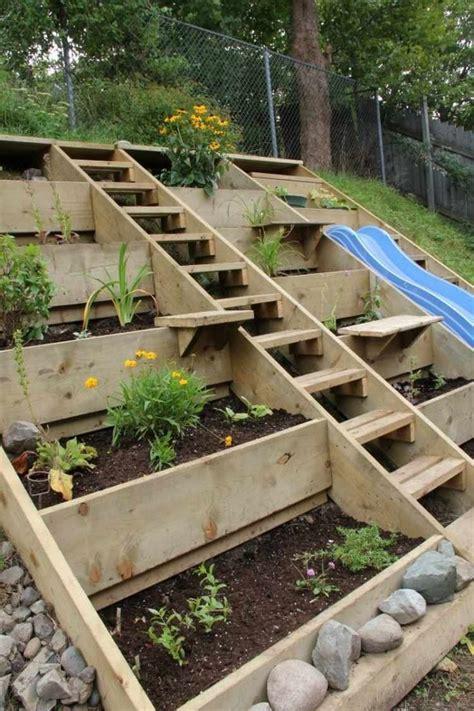 les 25 meilleures id 233 es concernant jardin en pente sur