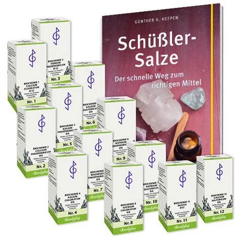 SchüßlerSalze  SchüßlerSalze Homöopathie