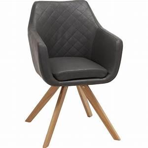 Möbel De Stühle : venda armlehnstuhl eiche grau jetzt bestellen unter ~ Orissabook.com Haus und Dekorationen