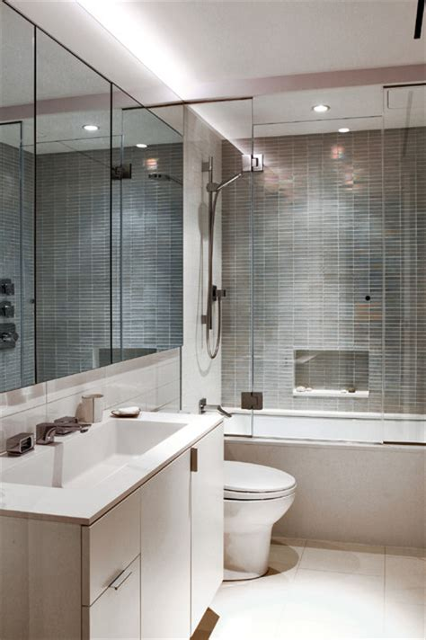 Modern Bathroom Nyc by West Townhouse Nyc