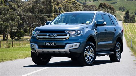 Ford Vehicles Car by 2017 Ford Everest Trend Rwd Review Caradvice