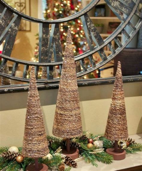 rustic christmas decorations christmas celebration
