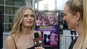 """Sara Paxton Interview """"Sundown"""" Los Angeles Premiere Red ..."""
