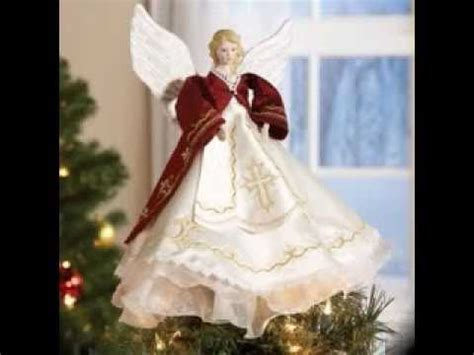 how to make a christmas tree angel topper tree topper decorating ideas