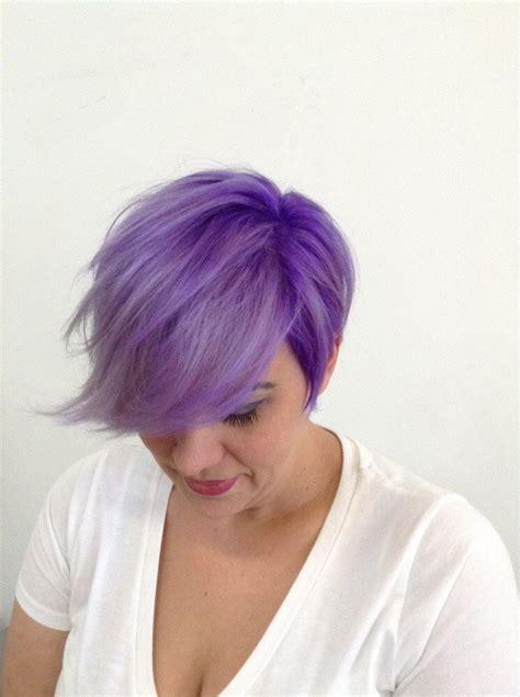 pixie cut hair color pixie cut purple search hair colors
