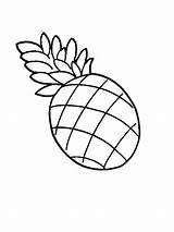 Pineapple Coloring Drawing Fruit Clipart Clip Pernambuco Without Colour Pages Fruits Cliparts Cartoon Juicy Liberty Statue Sheet Advertisement Presentations Projects sketch template