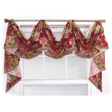 Australian Valances by Delora 3 Scoop Victory Swag Valance By Rlf Home